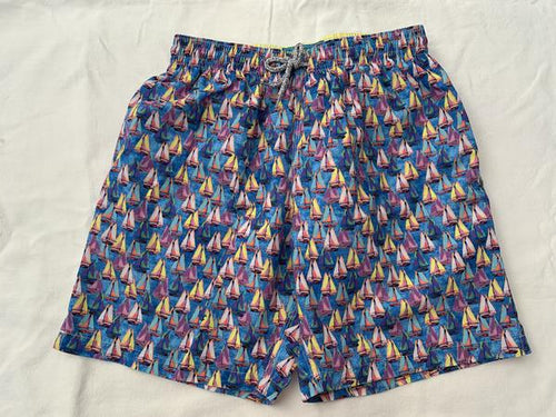 Sailing Away Swim Trunks