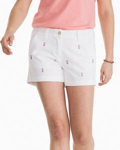 W 4in Sophia Popsicle Short