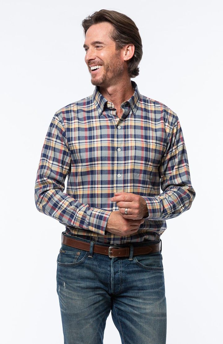 Deerfield Plaid Longsleeve Shirt