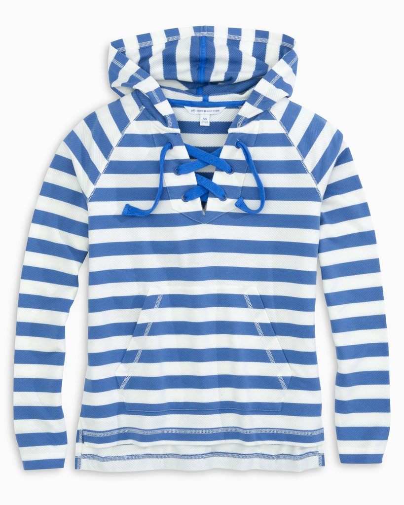 Ainsley Lace-Up Hoodie