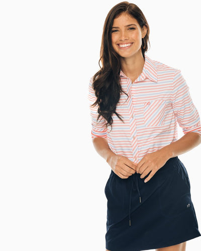 Emery Striped Button Down Shirt