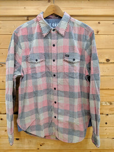 True Grit Wyatt Plaid Cord Shirt