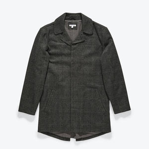 Brooklyn Plaid Trench Jacket