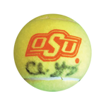 Chris Young, Oklahoma State, Autographed Tennis Ball