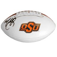 Mike Gundy, Oklahoma State Cowboys Autographed Football