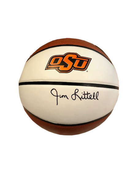 Jim Littell, Oklahoma State, Autographed Basketball