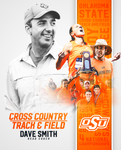 "Dave Smith Autographed 8""x10"" photo, Oklahoma State Track and Cross Country"