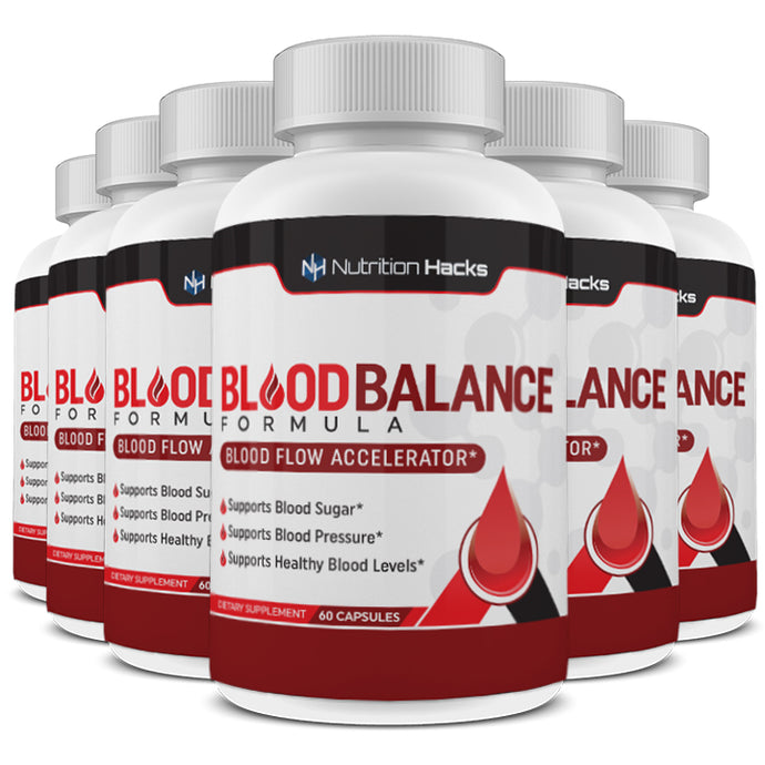 Blood Balance Formula - 6 Bottles