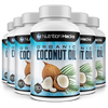 Organic Zero Fat Coconut Oil - 6 Bottles