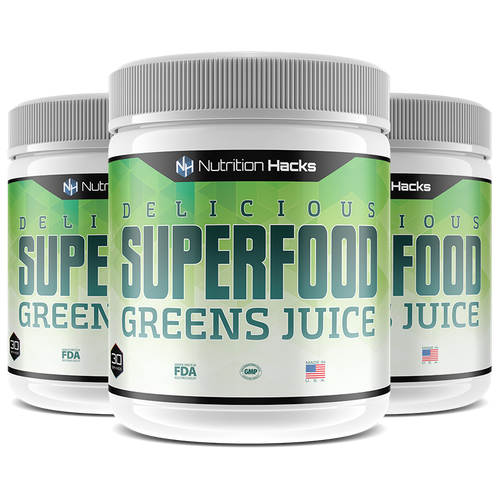Superfood Greens Juice 3 Bottles