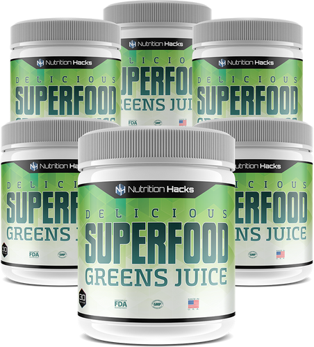 Superfood Greens Juice 6 Bottles