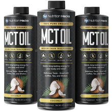 MCT Oil - 3 Bottles