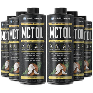 MCT Oil - 6 Bottle Pack