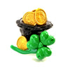 Make A Hot Glue Shamrock to Rock St. Patrick's Day