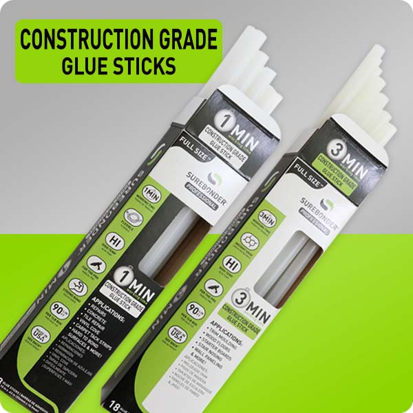 Construction Hot Glue Sticks