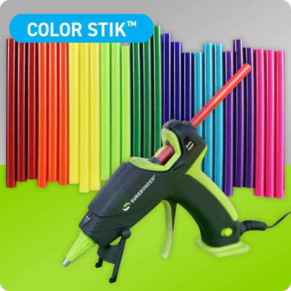 Colored Hot Glue Sticks