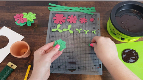 How to Make Foam Succulents - Surebonder