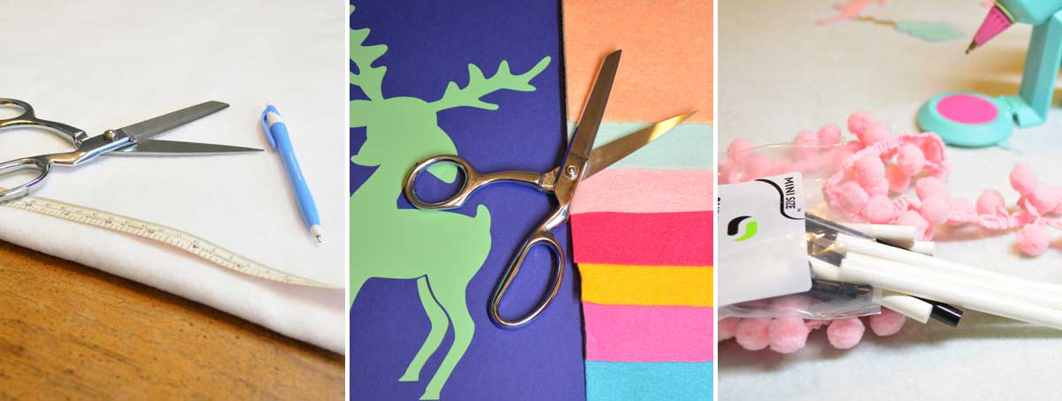 Create a felt holiday tree skirt with the help of Surebonder®'s Fabric Stik™ hot glue sticks