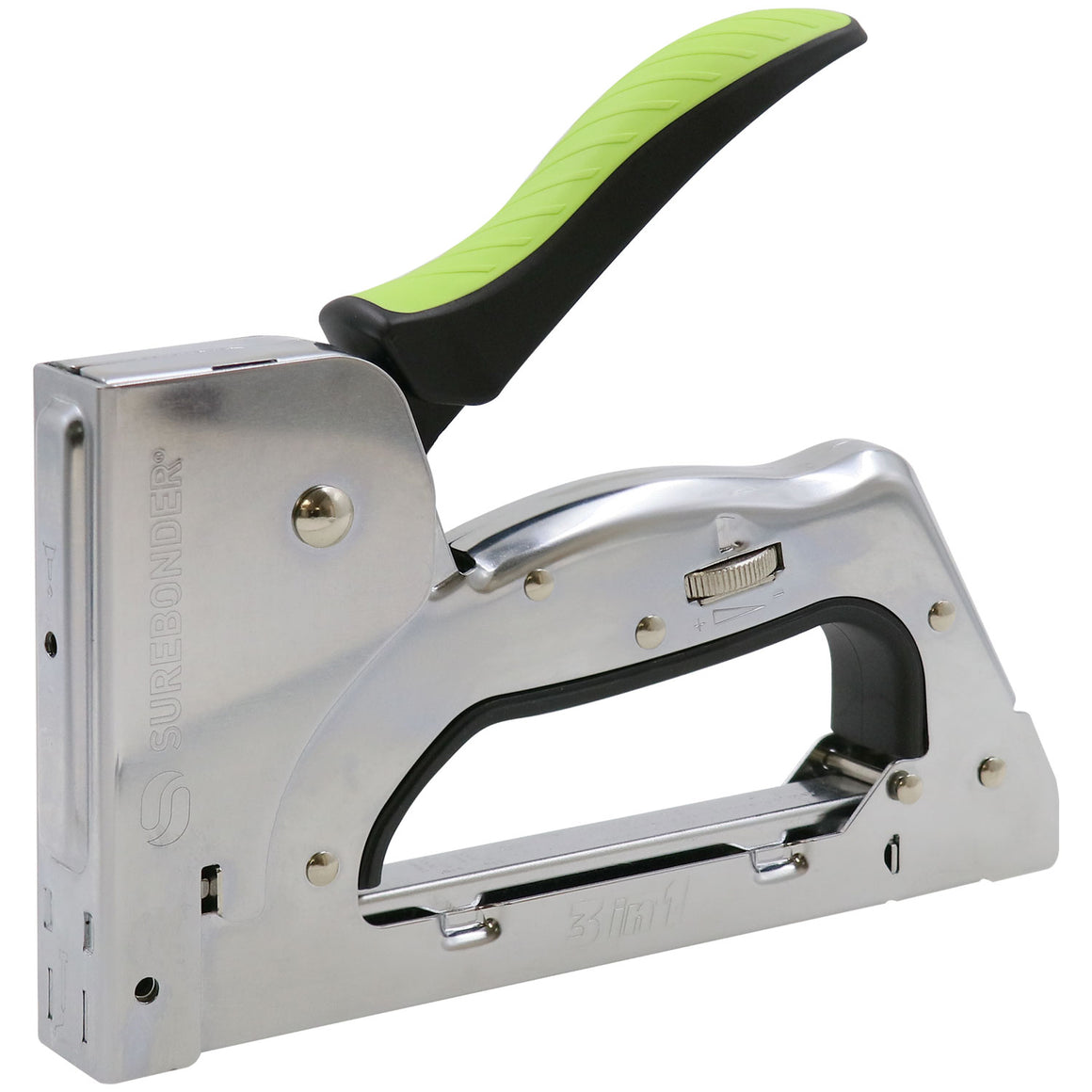 3-in-1 Heavy Duty Staple Gun