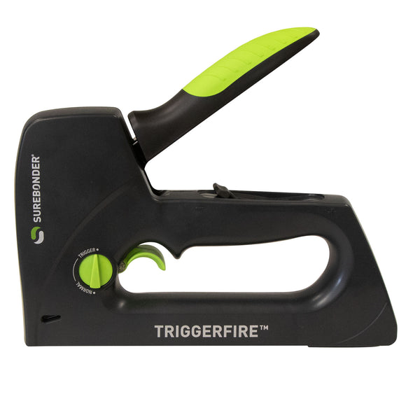 5661KIT TRIGGERFIRE Staple Gun Kit with Staples - 2 Strips of 4 Different Sizes
