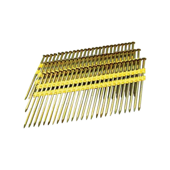"800-314 Round Head Plastic Strip 10D Framing Nails - 3-1/4"" Length - 500 Count"