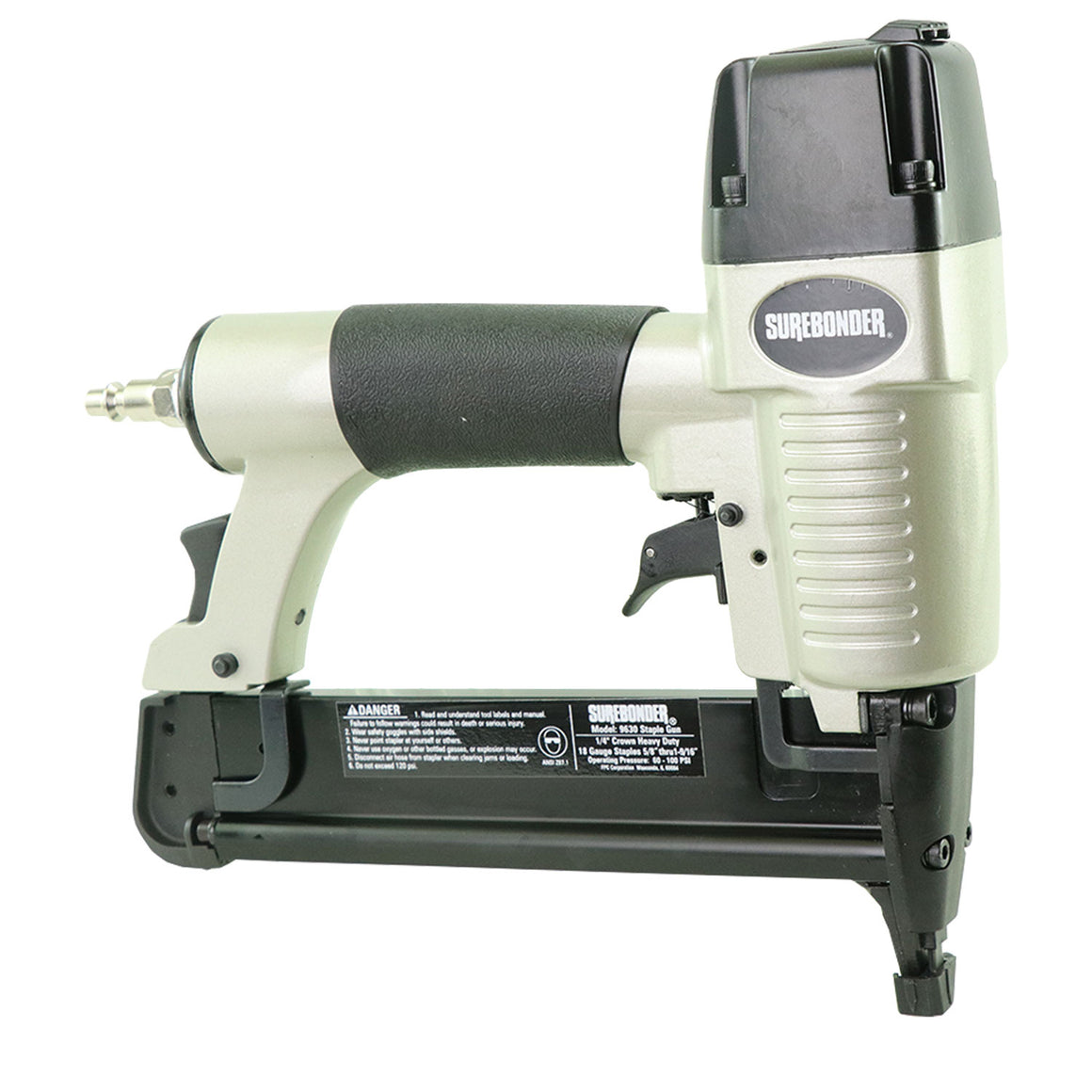 Pneumatic 18 Gauge Stapler with Case - Surebonder