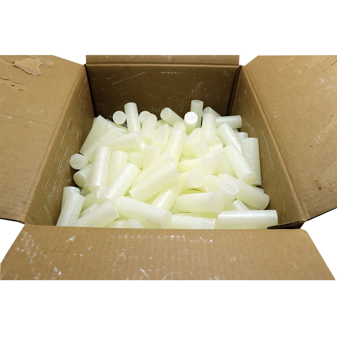 "C-725 All Temperature All Purpose Hot Melt Glue Sticks - 1"" x 3"" - 35 lbs -Clear"