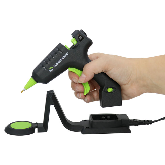 Cordless/Corded High Temperature Hot Glue Gun With Detail Tip, 20 Watt (CL-195F) - Surebonder