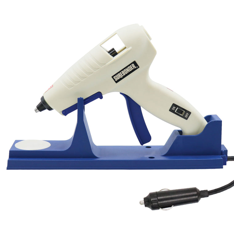 CL-800F-DC Specialty Series 60 Watt Full Size Cordless/Corded High Temp Glue Gun - Car Edition - Surebonder
