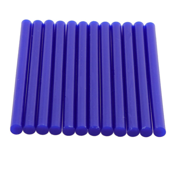 Blue Hot Glue Sticks Mini Size