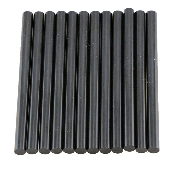 Black Hot Glue Sticks Mini Size