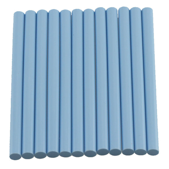 Light Blue Hot Glue Sticks Mini Size