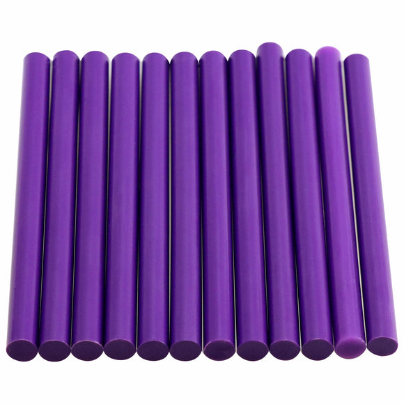 Purple Hot Glue Sticks Mini Size