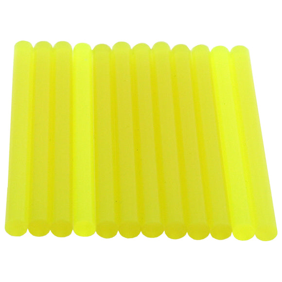 Chartreuse Hot Glue Sticks Mini Size