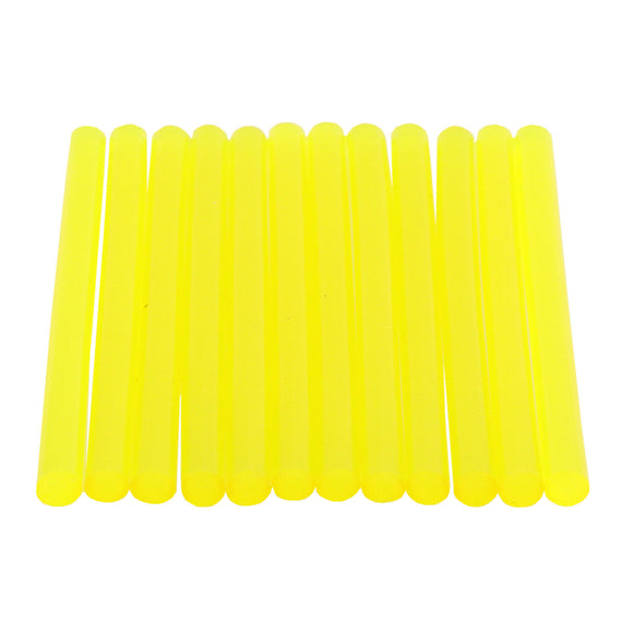 Yellow Green Hot Glue Sticks Mini Size