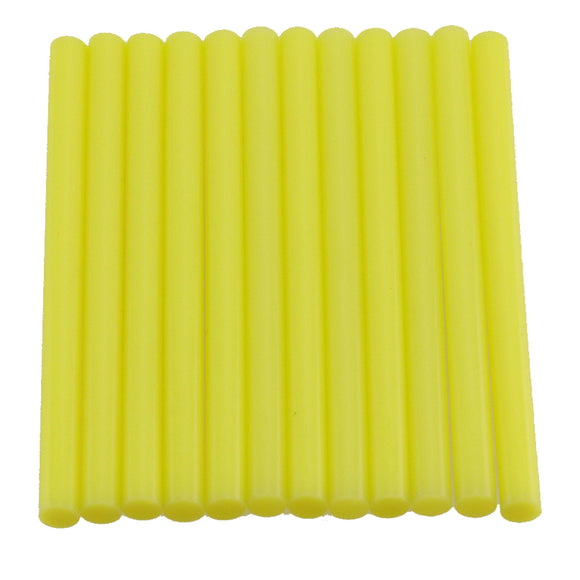 Yellow Hot Glue Sticks Mini Size