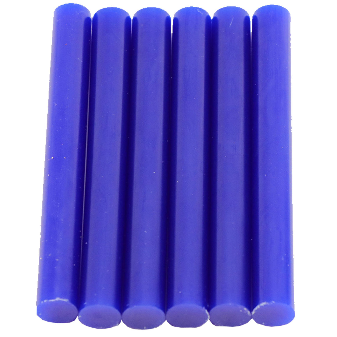 Blue Hot Glue Sticks Full Size
