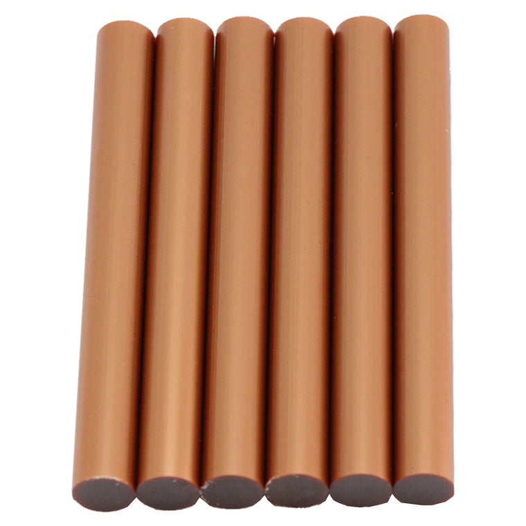 Copper Hot Glue Sticks Full Size