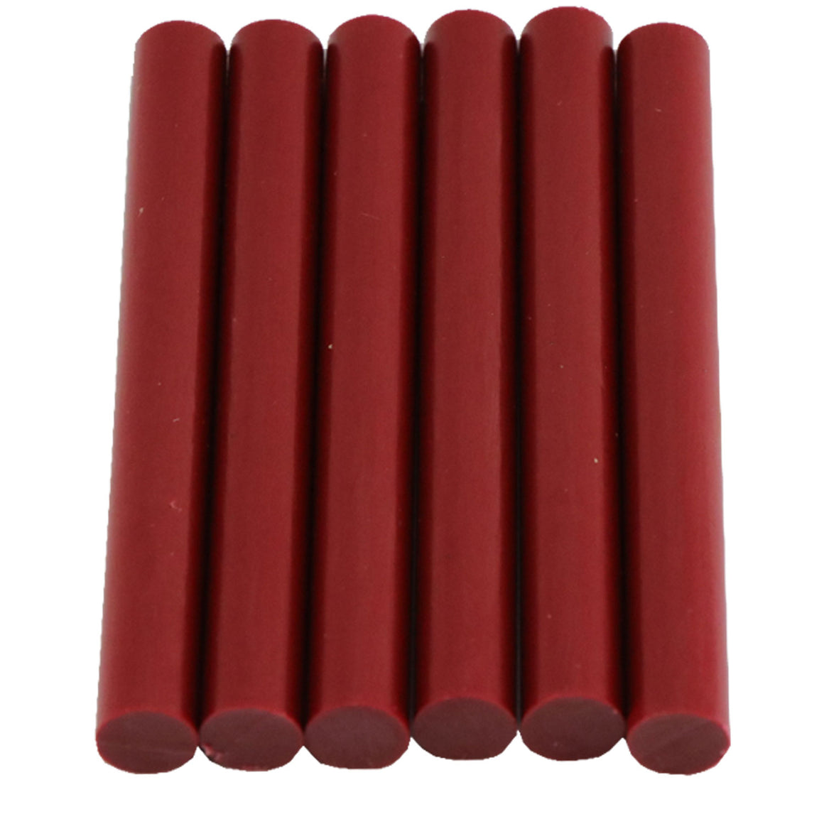 Crimson Hot Glue Sticks Full Size