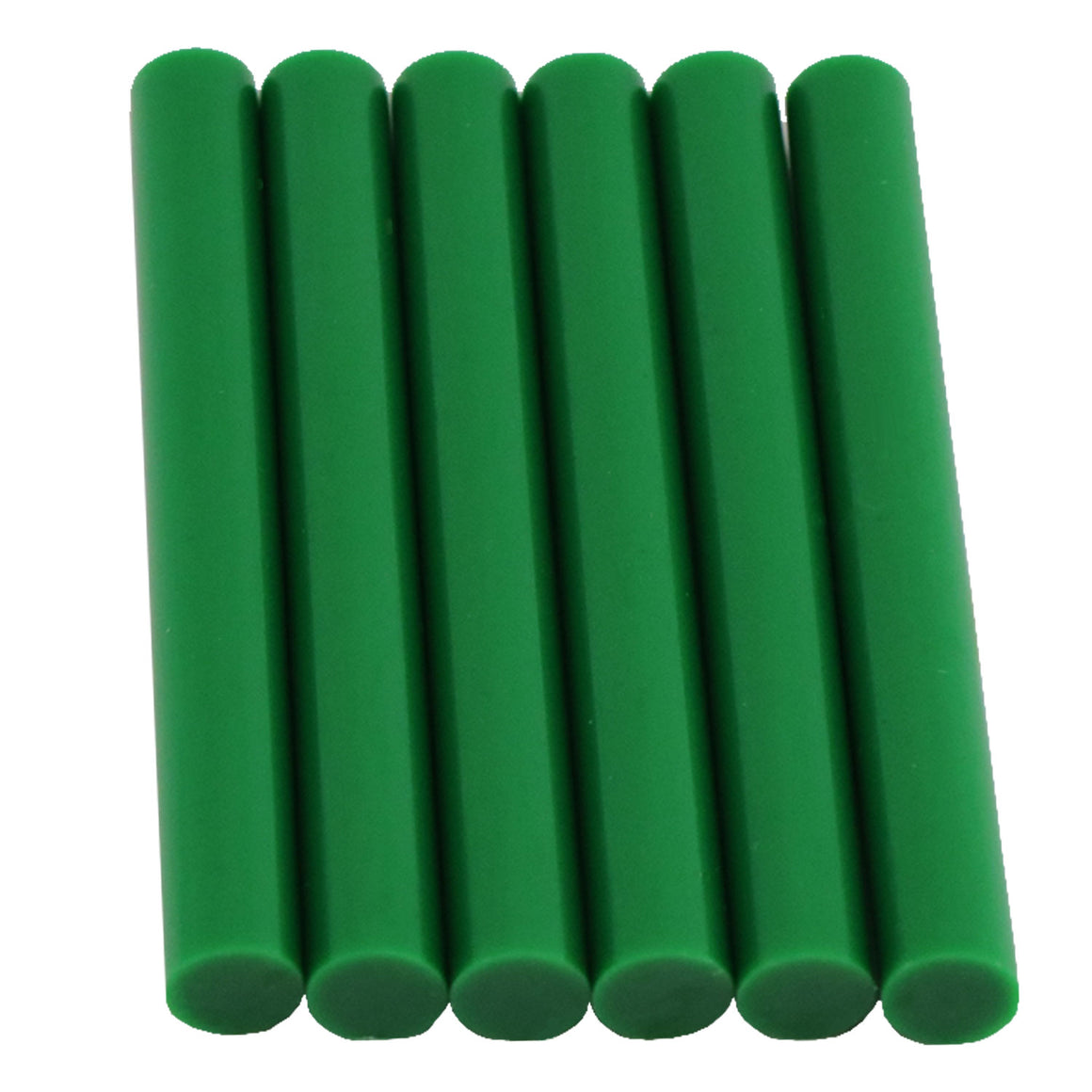 Green Hot Glue Sticks Full Size