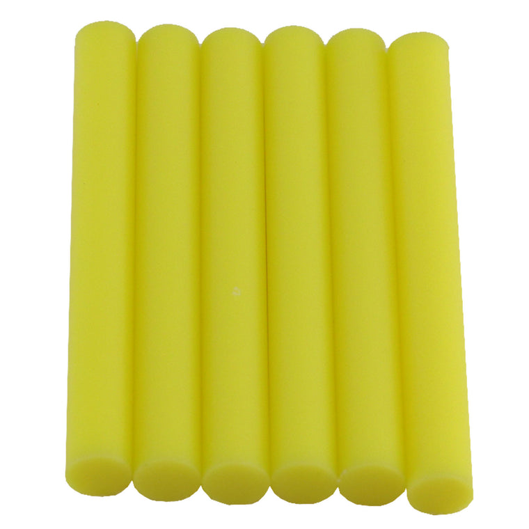 Yellow Hot Glue Sticks Full Size