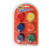 Cray-Pen CP6-1 Colored Wax Pucks - Red, Orange, Yellow, Green, Blue Purple - 6 Pack