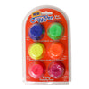 Cray-Pen CP6-3 Neon Colored Wax Pucks -Blue, Green, Yellow, Orange, Pink, Purple