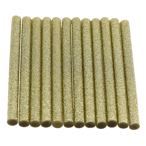 Gold Glitter Hot Glue Sticks Mini Size