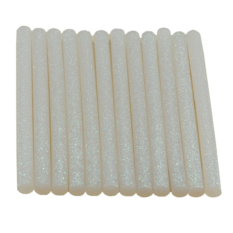 Opal Glitter Hot Glue Sticks Mini Size