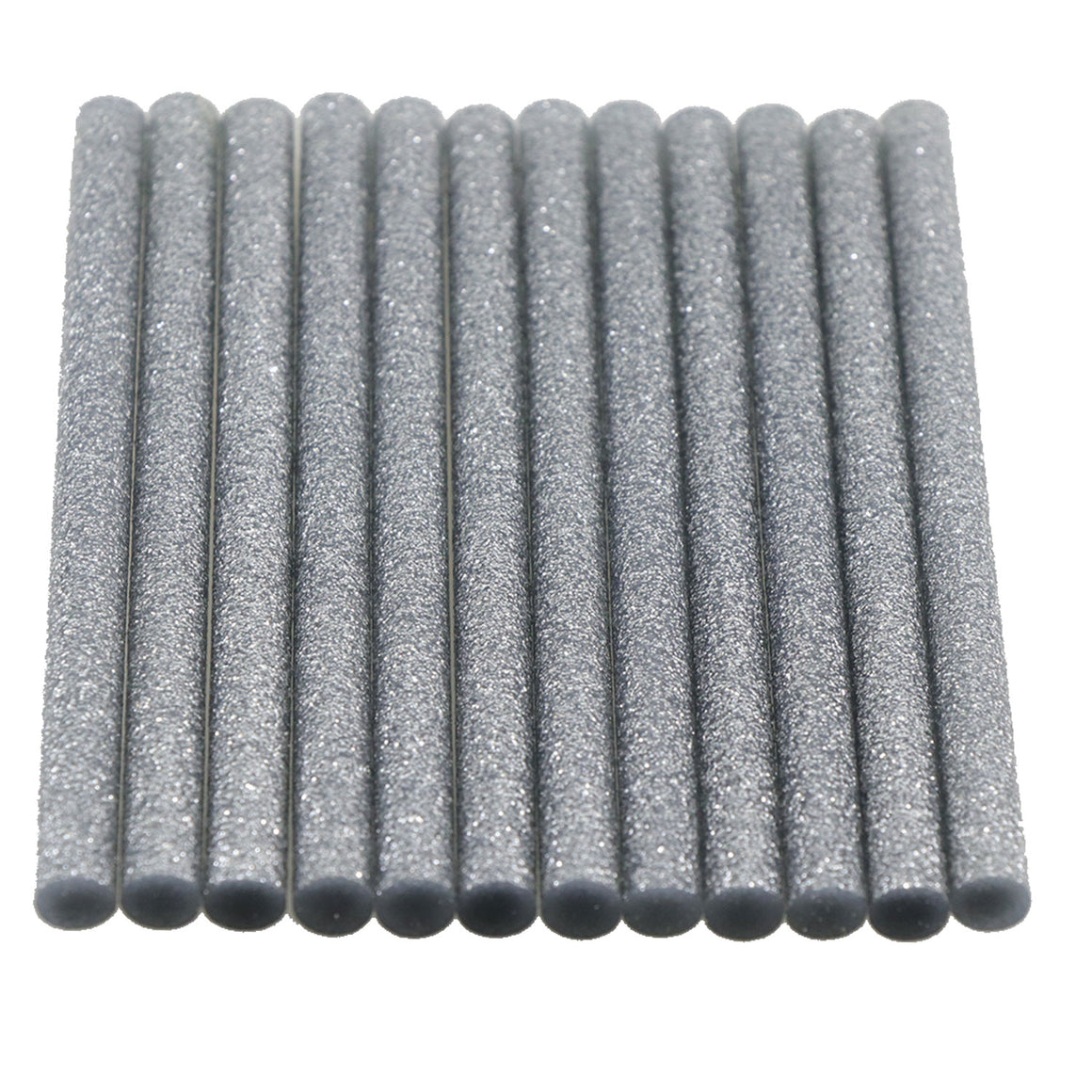 Silver Glitter Hot Glue Sticks Mini Size