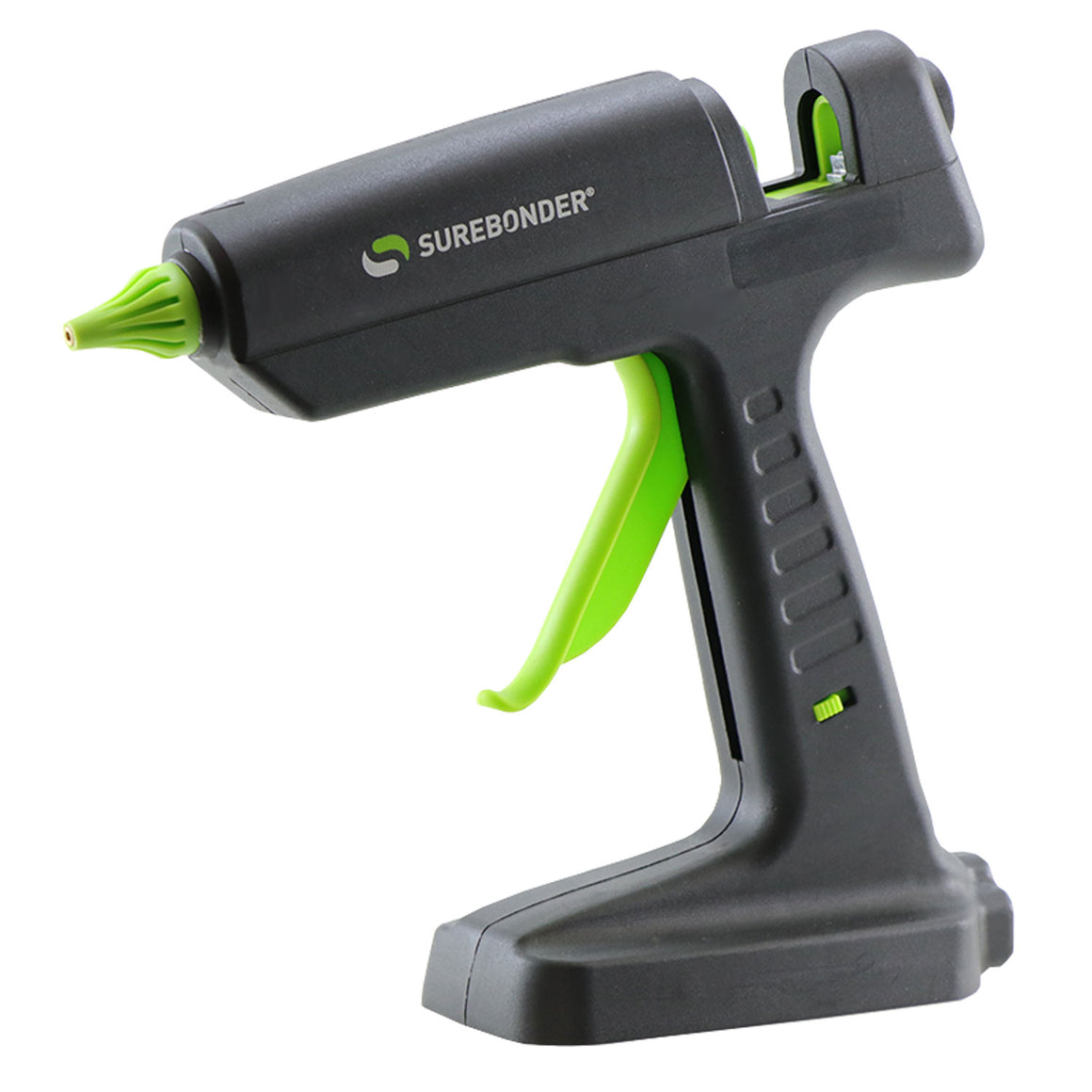 HYBRID-120 120 Watt Corded/18 Volt Lithium Ion Cordless Hybrid Professional Heavy Duty Full Size Hot Glue Gun - Surebonder