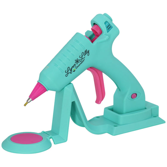 Lynn Lilly Edition Cordless/Corded Detail Tip Mini Glue Gun