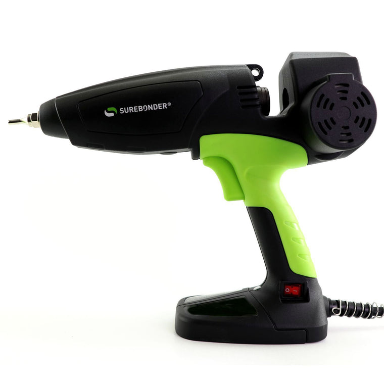 "MGG-450 450 Watt Motorized Professional Heavy Duty Hot Glue Gun - Uses Full Size, 7/16"" Glue Sticks"