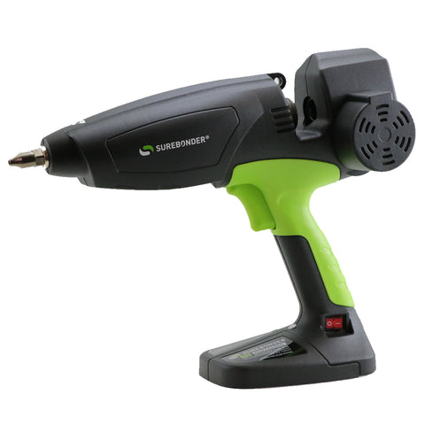 "MGG-500 500 Watt Motorized Professional Heavy Duty Hot Glue Gun - Uses Oversized, 5/8"" Glue Sticks"